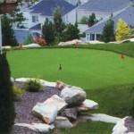 Golf Green Installation