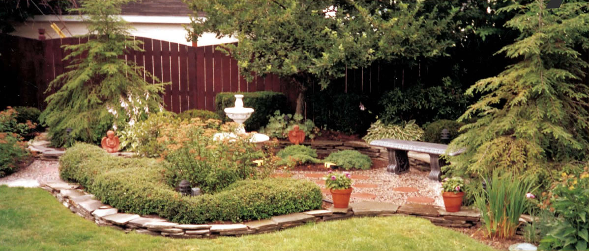 Landscape design and installation by forever green landscapes for Landscape design and installation
