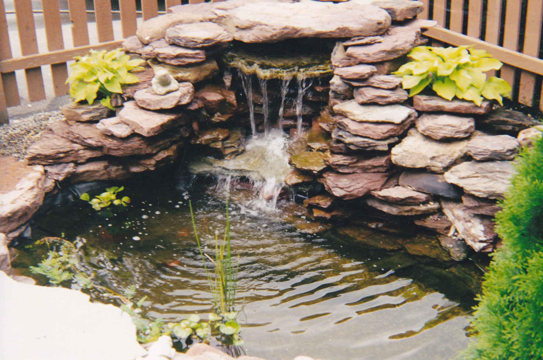 Ponds Waterfalls Water Features Forever Green Landscaping